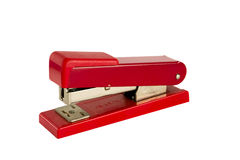 Old Red Stapler Royalty Free Stock Image