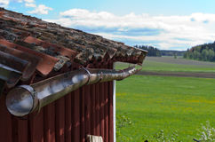 Old red tiles Stock Photography