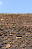 Old red tiles Stock Image