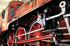 Old red train Stock Images