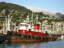 Old red tugboat Royalty Free Stock Photo