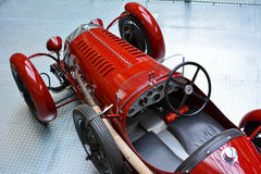 Old red vintage car Stock Photography