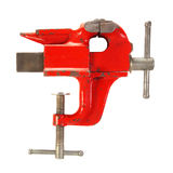 Old Red Vise Stock Image