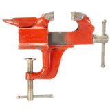 Old Red Vise . Stock Photography