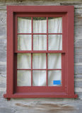Old red window Stock Image