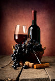 Old red wine Royalty Free Stock Image