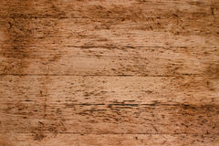 Old red wood background, rustic wooden surface with copy space Stock Images