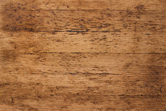 Old red wood background, rustic wooden surface with copy space Stock Photo