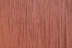 Old red wood background. Texture of dirty old red wood surface Stock Photography