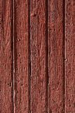 Old red wood background Stock Images