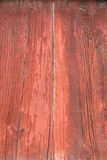 Old red wood board wall Royalty Free Stock Images