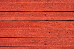 Old red wood panels. Old, red grunge wood panels used as background Royalty Free Stock Photo