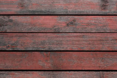 Old red wooden background Stock Photography