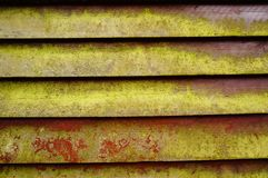 Old red wooden boards Royalty Free Stock Photography