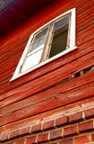 Old Red Wooden House Royalty Free Stock Photos