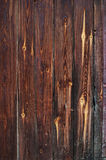 Old Red Wooden Planks with Knots, background Royalty Free Stock Photography