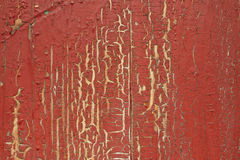 Old red wooden surface Stock Photo