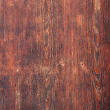 Old reddish brown wooden board texture Royalty Free Stock Image