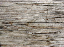 Old Redwood Plank Stock Photography