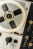 Old reel tape recorder Royalty Free Stock Images