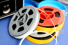 Old reels Stock Photography