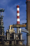 Old refinery Stock Images