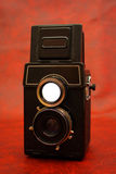 Old reflex camera Royalty Free Stock Photos