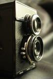 Old reflex camera Royalty Free Stock Photo