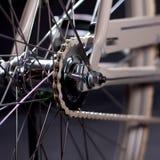 Old refurbished retro bike - Details Royalty Free Stock Photo
