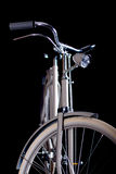 Old refurbished retro bike - Details Stock Image