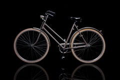 Old refurbished retro bike Royalty Free Stock Image