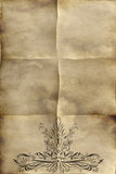old regal paper parchment  Stock Image