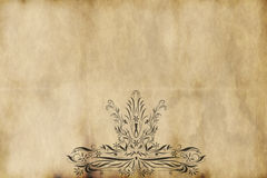 Old regal paper parchment  Stock Photography