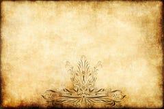 Old regal parchment paper Stock Photo