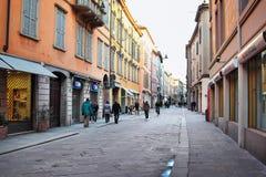Old Reggio Emilia city Stock Image