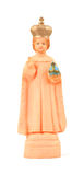 Old religious figurine Stock Images