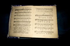 Free Old Religious Hymns Book Stock Images - 105200884