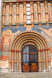 Old religious painting. Dormition church. Moscow Kremlin. Royalty Free Stock Photo