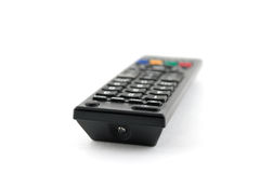 Old remote console for TV Royalty Free Stock Photos