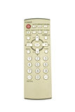 Old remote control for television put straight Royalty Free Stock Images