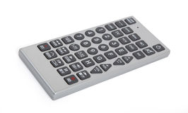 Old remote control tv Stock Images