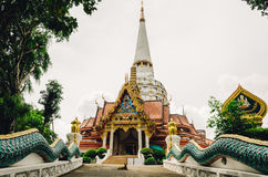 Old and remote thai monastery Royalty Free Stock Photography