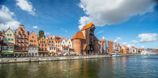 Old renaissance architecture in Gdansk Stock Photo