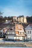 Old Renaissance castle in Kazimierz Dolny, Poland Stock Photo