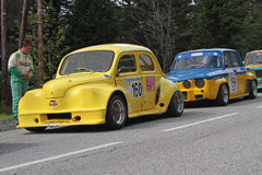 Old Renault cars Royalty Free Stock Image