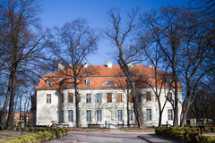 Old renewed palace in Lodz Royalty Free Stock Photo