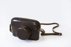 Old Rengefinder Camera from 1962. Stock Image