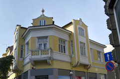 Old renovated building in Ruse town Royalty Free Stock Image