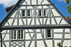 Old renovated half timbered houses Royalty Free Stock Photography