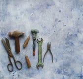 Old repair equipment Stock Photo